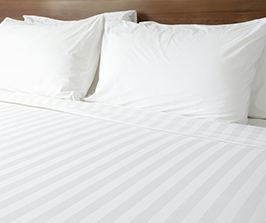 clean linens - bedsheets and pillows