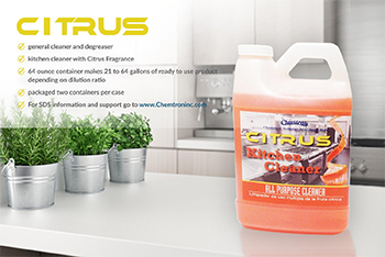 Citrus Kitchen Cleaner product image with description